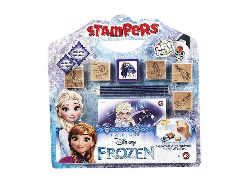 Frozen Set Gioca E Stampa - MazzeoGiocattoli.it