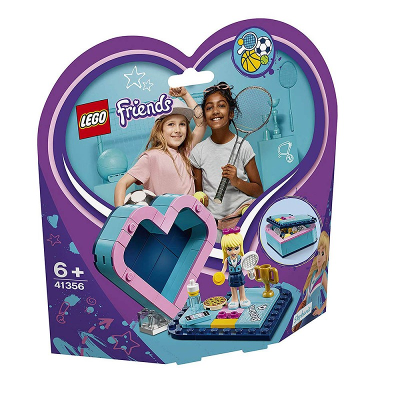 Scatola Del Cuore Di Stephanie - Lego Friends 41355 - MazzeoGiocattoli.it