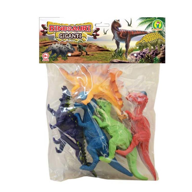 Set Dinosauri In Plastica - Mazzeo Giocattoli - MazzeoGiocattoli.it