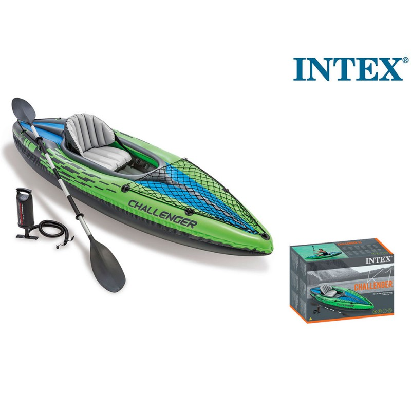 Canoa Intex Challenger K1  - MazzeoGiocattoli.it