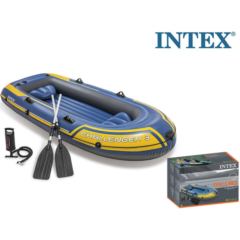 Intex Canotto Challenger 3  - MazzeoGiocattoli.it