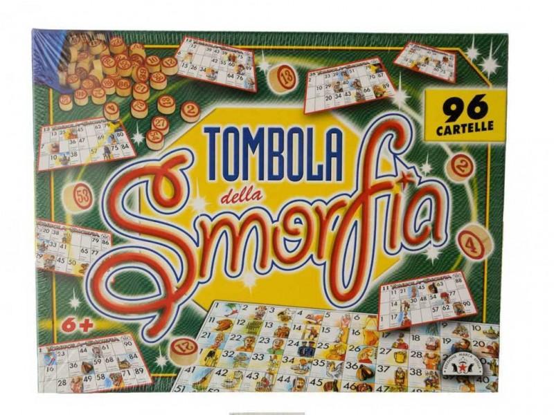 Gioco Di Società Tombola Della Smorfia - Edizione Marca Stella - MazzeoGiocattoli.it