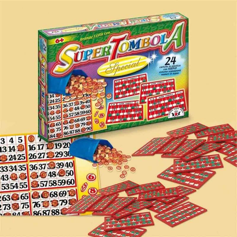 Super Tombola 24 Cartelle - Edizione Marca Stella - MazzeoGiocattoli.it