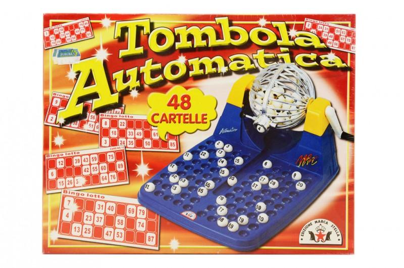 Tombola Automatica - Edizione Marca Stella - MazzeoGiocattoli.it