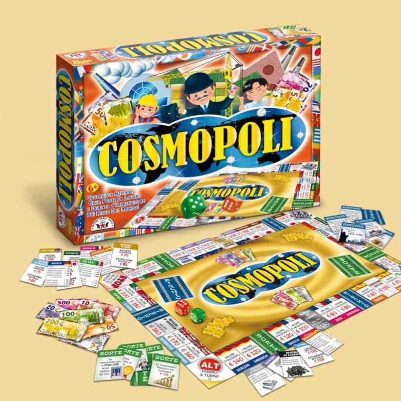 Gioco Di Società Cosmopoli - Edizione Marca Stella - MazzeoGiocattoli.it