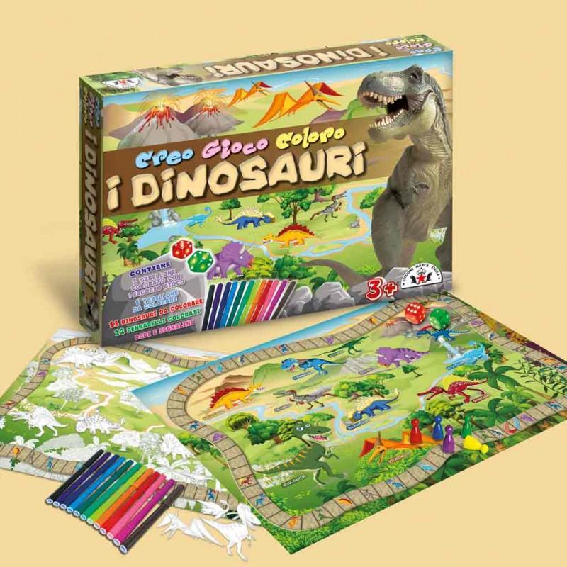 Crea E Colora I Dinosauri  - MazzeoGiocattoli.it
