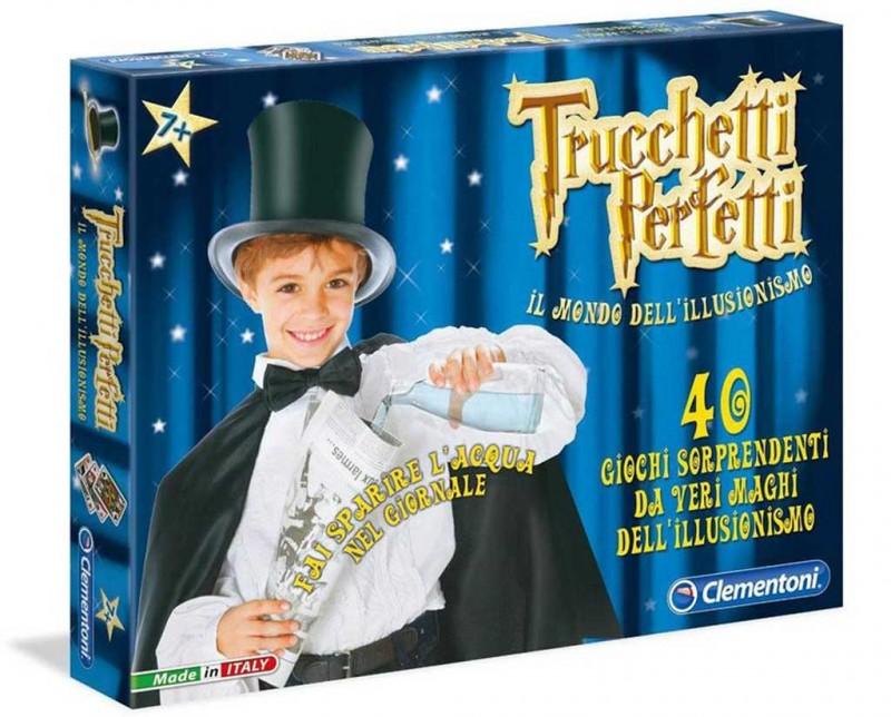 Gioco Per Bambini Trucchetti Perfetti - Clementoni - MazzeoGiocattoli.it