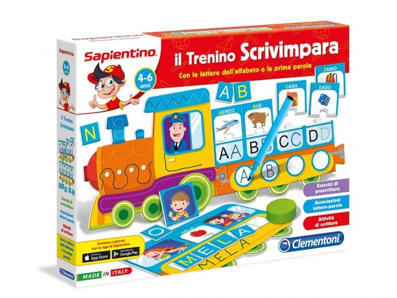 Sapientino Il Trenino Scrivimpara - Clementoni - MazzeoGiocattoli.it