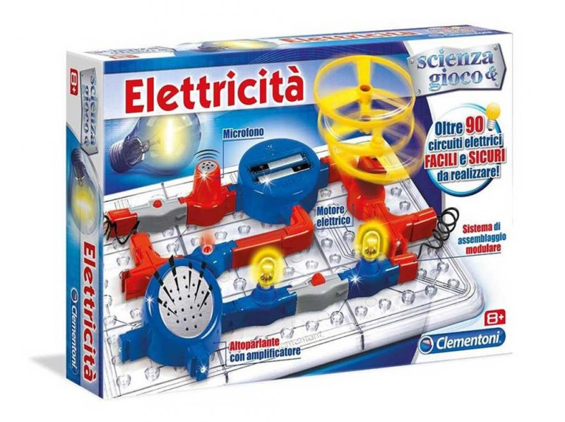 Laboratorio Di Elettricità - Clementoni - MazzeoGiocattoli.it
