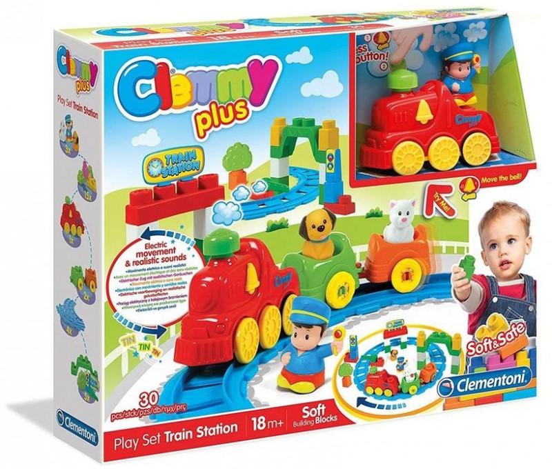 Clemmy Plus La Stazione Del Treno - MazzeoGiocattoli.it