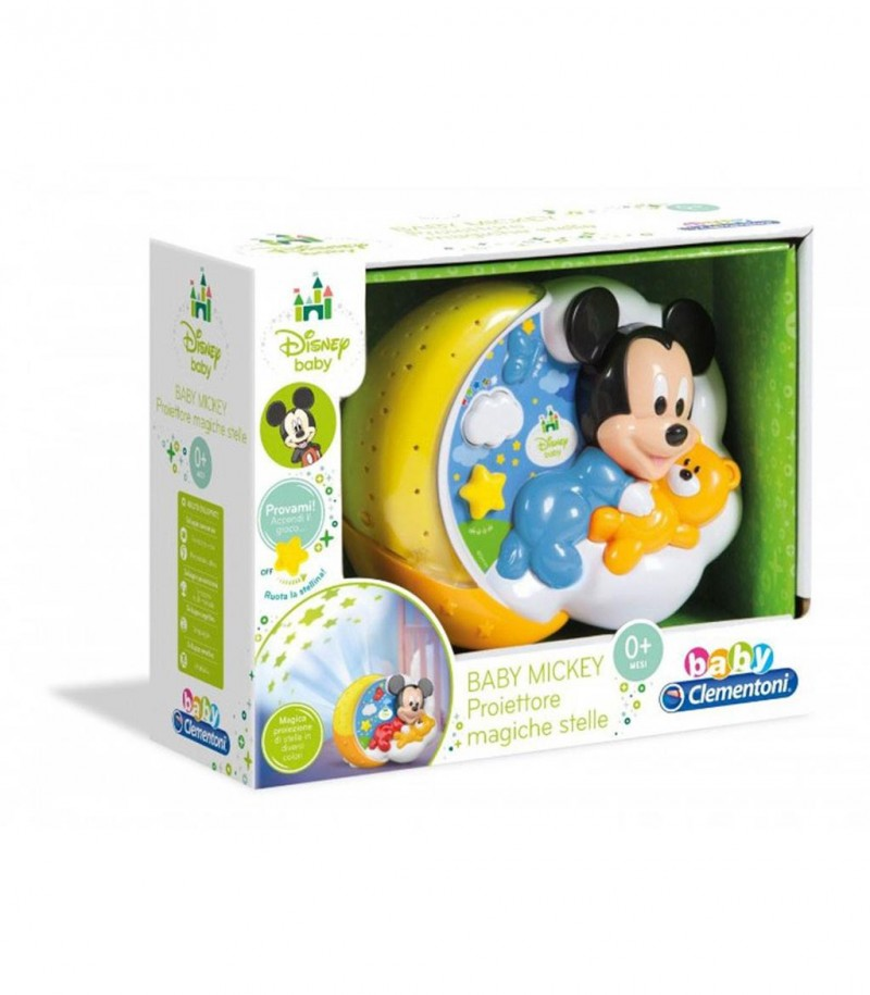 Baby Mickey Proiettore Magiche Stelle - MazzeoGiocattoli.it