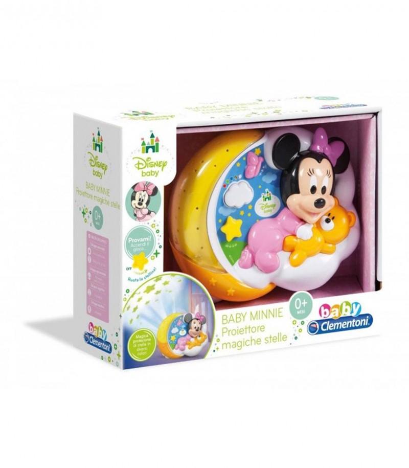 Baby Minnie Proiettore Magiche Stelle - Clementoni - MazzeoGiocattoli.it