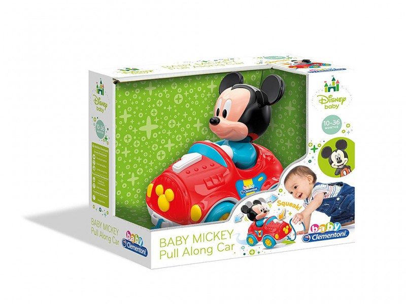 Clemmy Baby Macchina Di Topolino Trainabile - MazzeoGiocattoli.it
