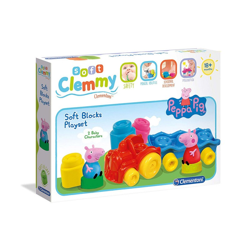Costruzioni Baby Clemmy Peppa Pig - Clementoni  - MazzeoGiocattoli.it