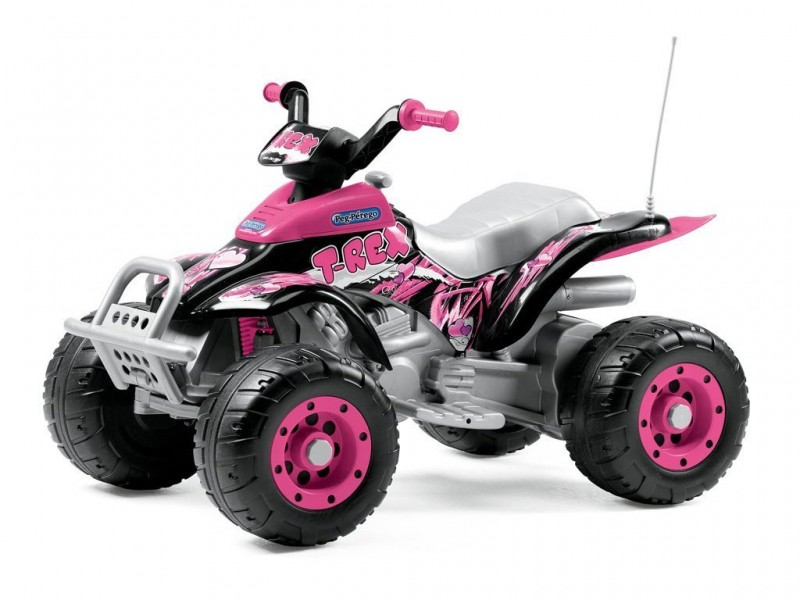 Quad Corral T-rex Rosa - MazzeoGiocattoli.it