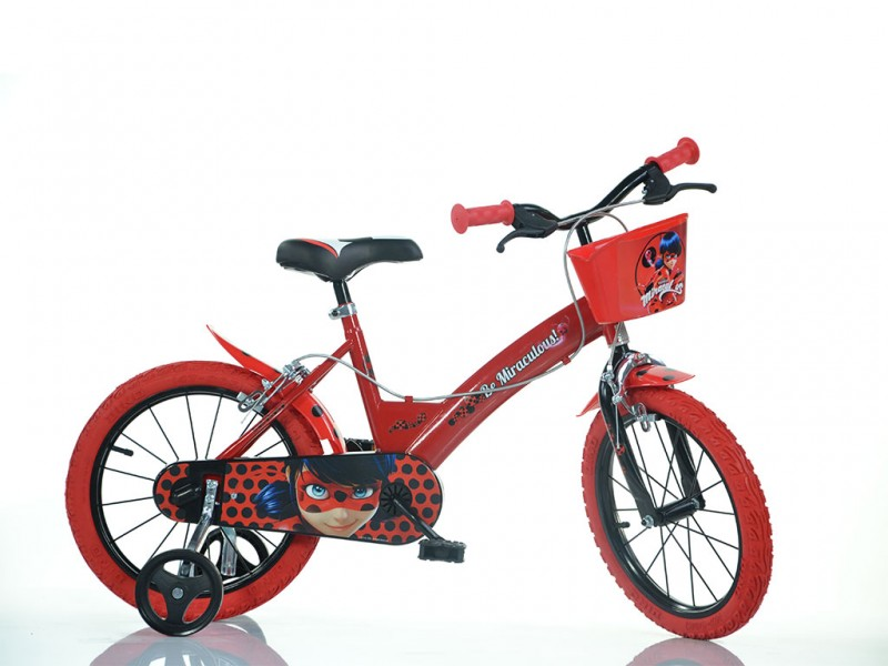 Bicicletta Bimba Miraculous Ruota 16 - Dino Bikes - MazzeoGiocattoli.it