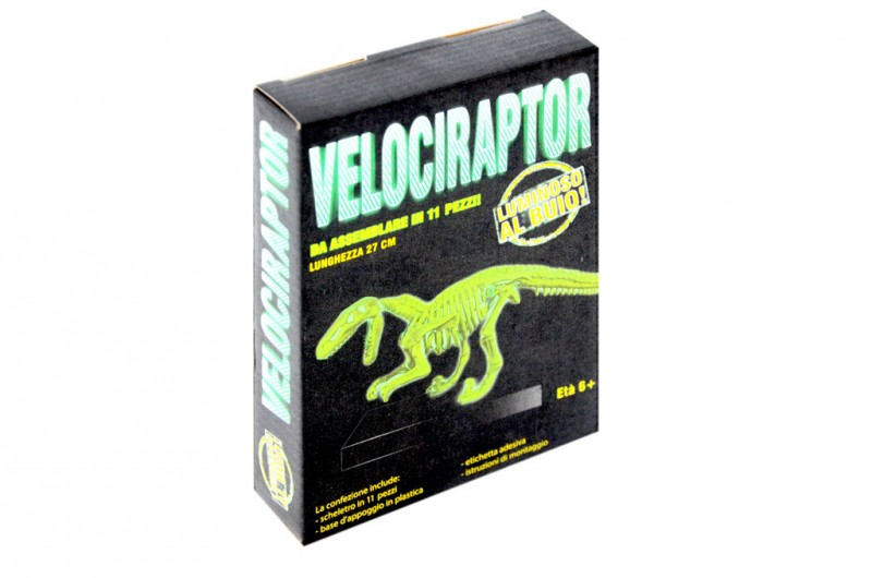 Dinosauro Velociraptor - Mazzeo Giocattoli     - MazzeoGiocattoli.it
