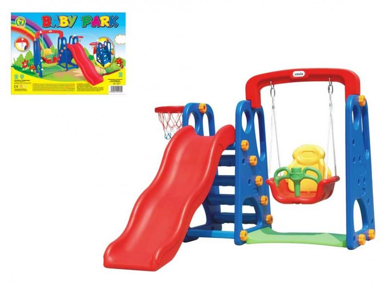 Parco Giochi Da Esterno Baby Park Mazzeo Giocattoli  - MazzeoGiocattoli.it