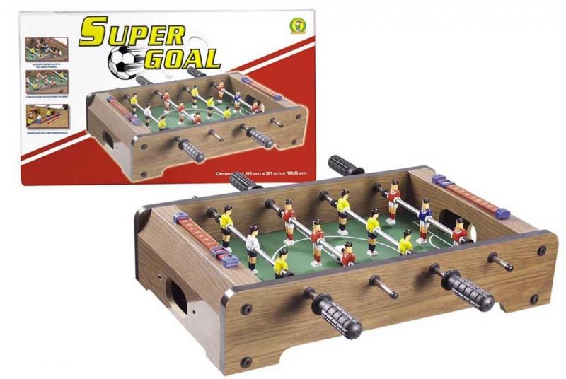 Calcio Balilla Da Tavolo Super Goal - MazzeoGiocattoli.it