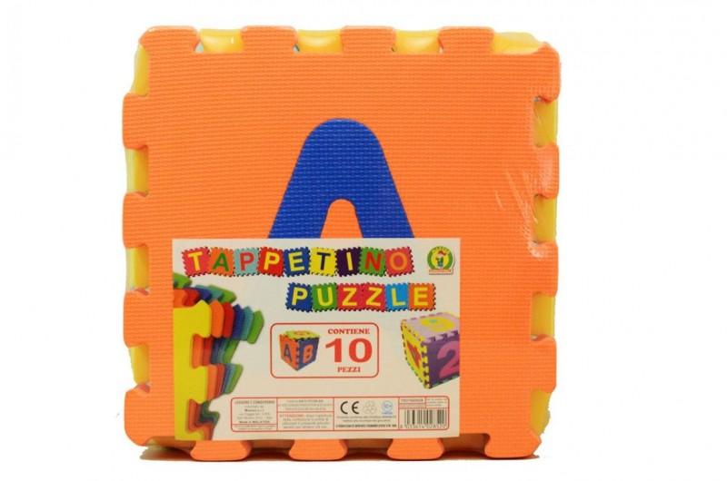 Tappetino Puzzle Con Lettere 10 Pezzi  - MazzeoGiocattoli.it