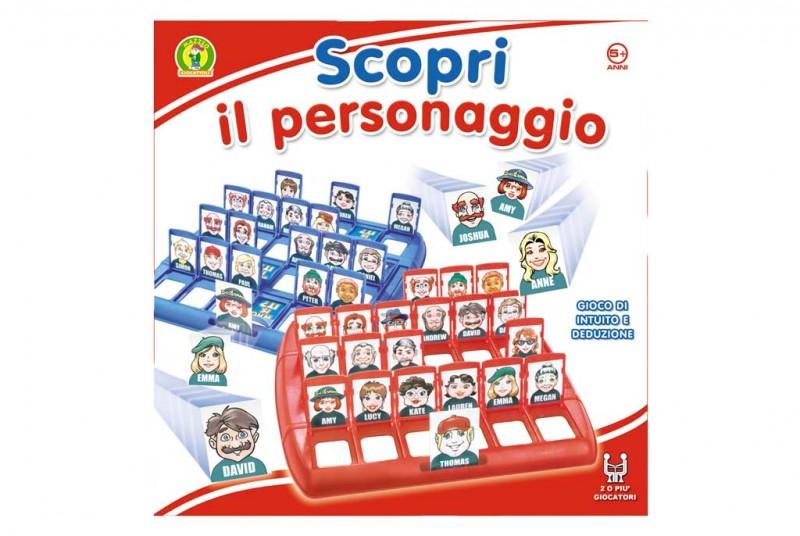 Gioco Di Società Scopri Il Personaggio - MazzeoGiocattoli.it