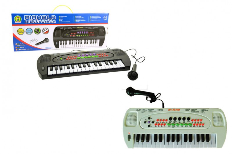 Pianola Elettronica Con Microfono - MazzeoGiocattoli.it