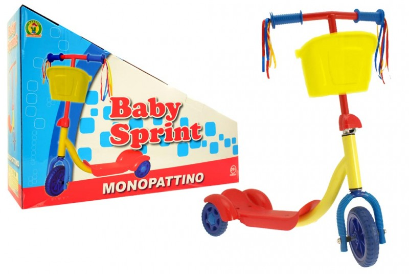Monopattino Baby Sprint 3 Ruote - MazzeoGiocattoli.it
