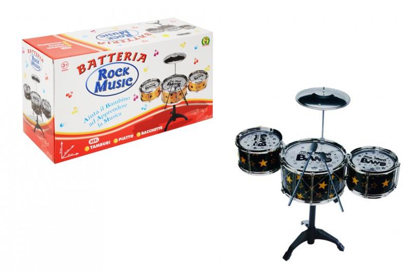 Batteria Rock Music - Mazzeo Giocattoli - MazzeoGiocattoli.it