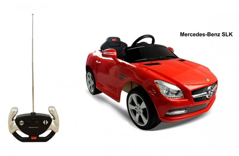 Auto Elettrica Con Radiocomando Mercedes Rossa     - MazzeoGiocattoli.it