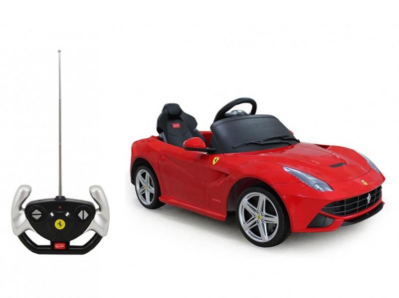 Auto Elettrica Radiocomandata Ferrari F12 12V - MazzeoGiocattoli.it
