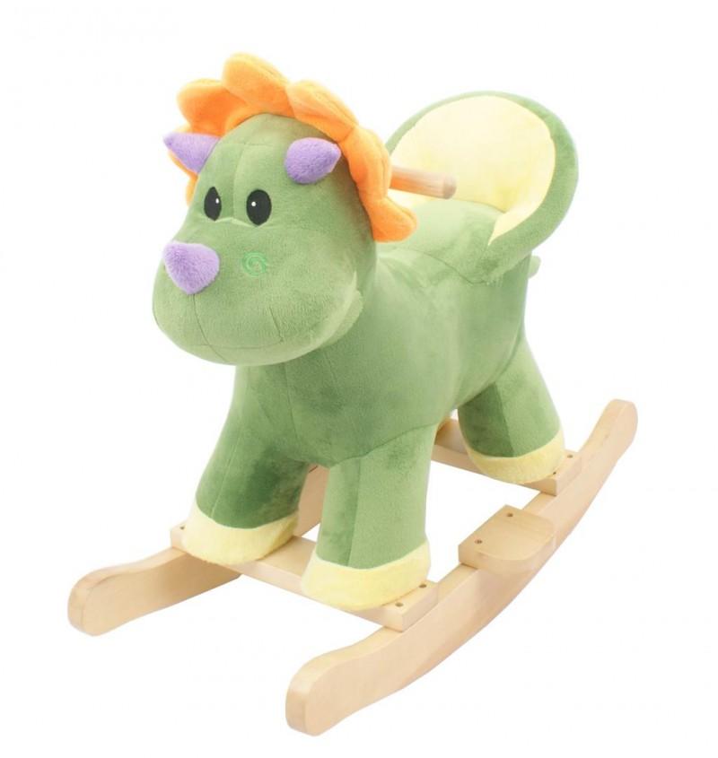 Cavallo A Dondolo Baby Dinosauro  - MazzeoGiocattoli.it