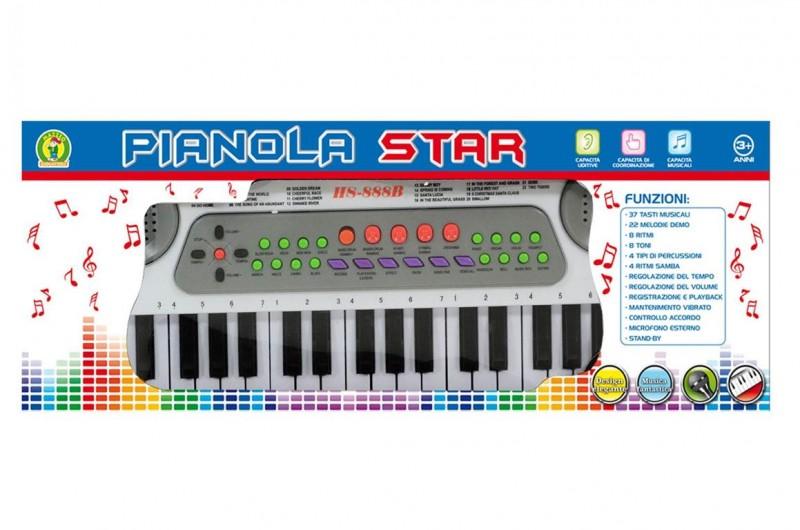 Pianola Per Bambini Star Mazzeo Giocattoli  - MazzeoGiocattoli.it