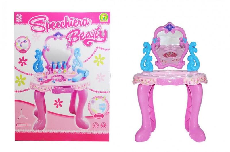 Specchiera Per Bambine Modello Beauty  - MazzeoGiocattoli.it