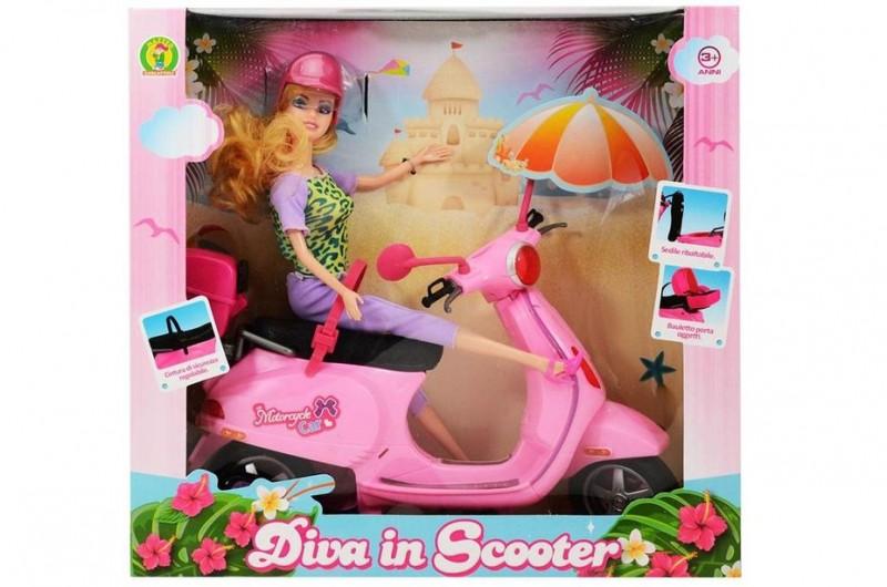 Scooter Bambola Diva - Mazzeo Giocattoli  - MazzeoGiocattoli.it
