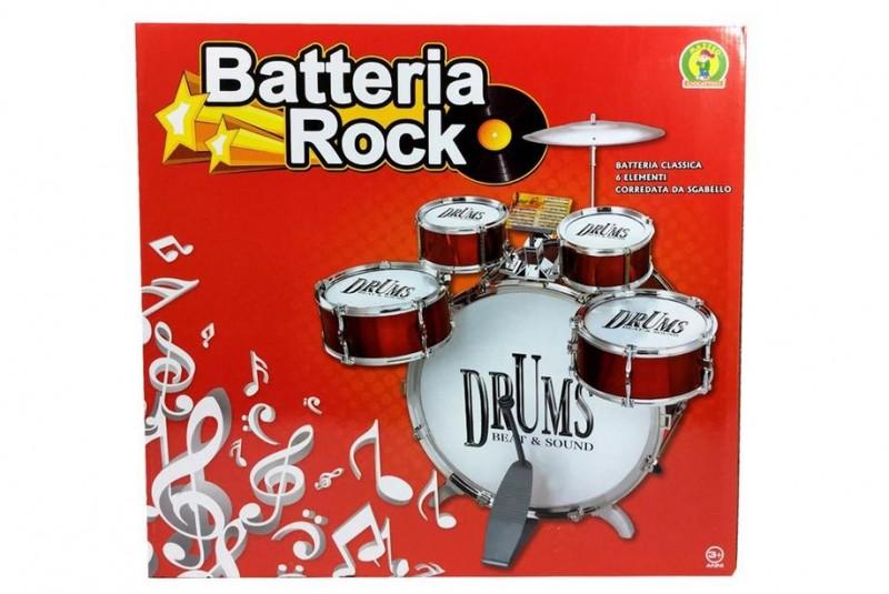 Batteria Rock - Mazzeo Giocattoli - MazzeoGiocattoli.it