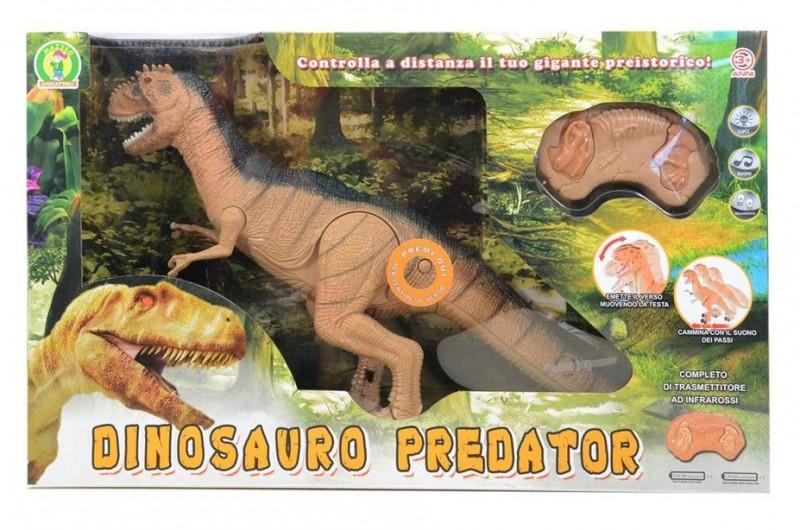 Dinosauro Radiocomandato Predator - Mazzeo Giocattoli - MazzeoGiocattoli.it