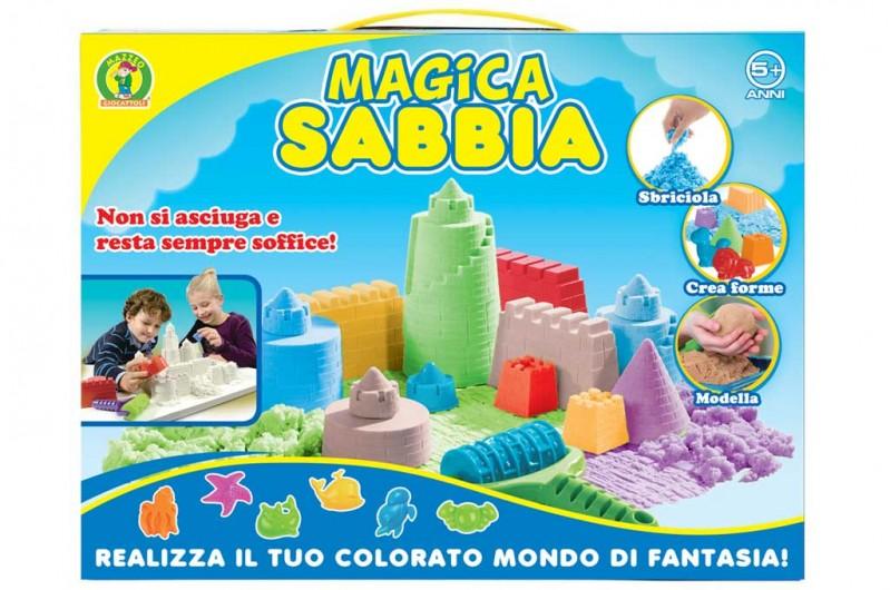Sabbia Magica Per Bambini - MazzeoGiocattoli.it
