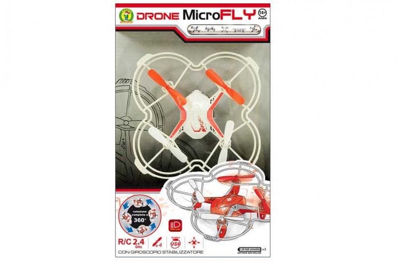 Drone Quadricottero Microfly Con Luci - Mazzeo Giocattoli - MazzeoGiocattoli.it