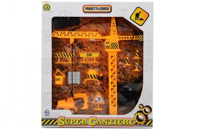 Super Cantiere - Mazzeo Giocattoli                        - MazzeoGiocattoli.it