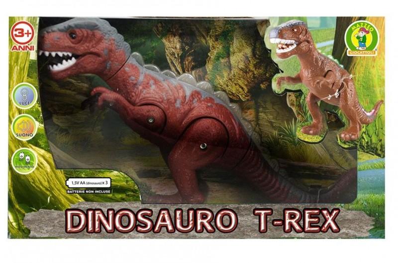 Dinosauro T-rex Luci E Suoni - Mazzeo Giocattoli - MazzeoGiocattoli.it