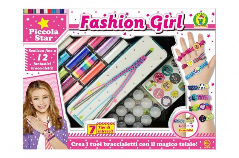 Fashion Girl Braccialetti - Mazzeo Giocattoli - MazzeoGiocattoli.it