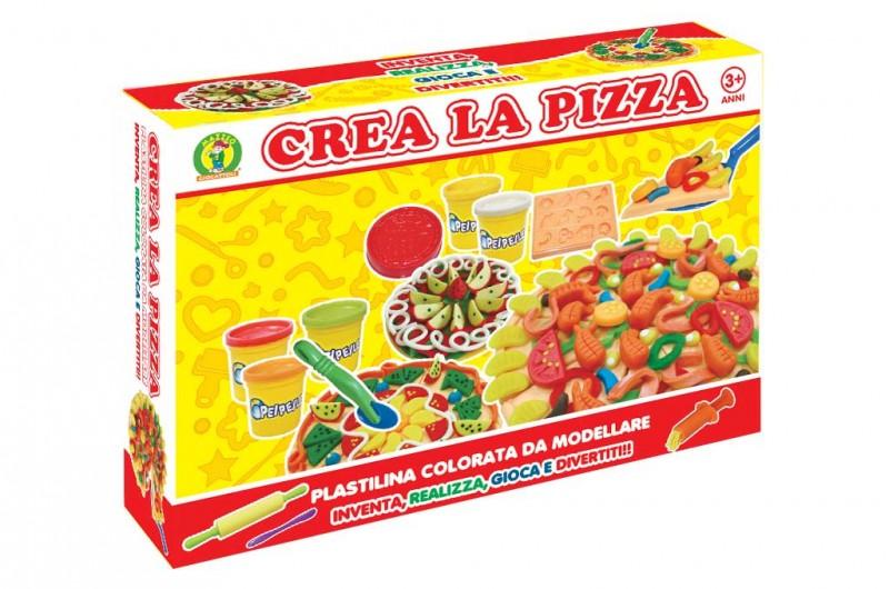 Plastilina Crea La Pizza - Mazzeo Giocattoli                           - MazzeoGiocattoli.it