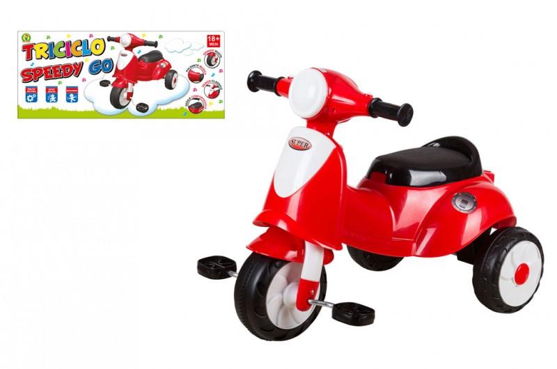 Triciclo Speedy Go Rosso - MazzeoGiocattoli.it