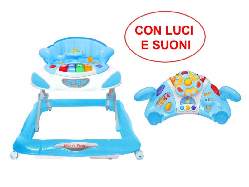 Girello Bimbo Luci E Suoni - Mazzeo Giocattoli  - MazzeoGiocattoli.it
