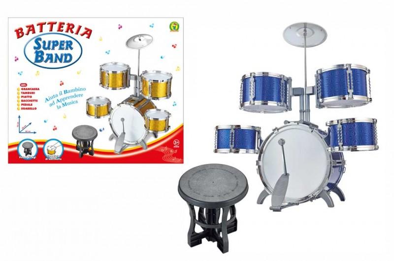 Batteria Musicale Super Band - Mazzeo Giocattoli - MazzeoGiocattoli.it
