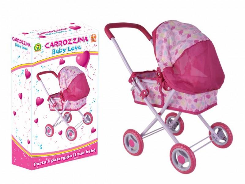 Carrozzina Bambole Baby Love  - MazzeoGiocattoli.it