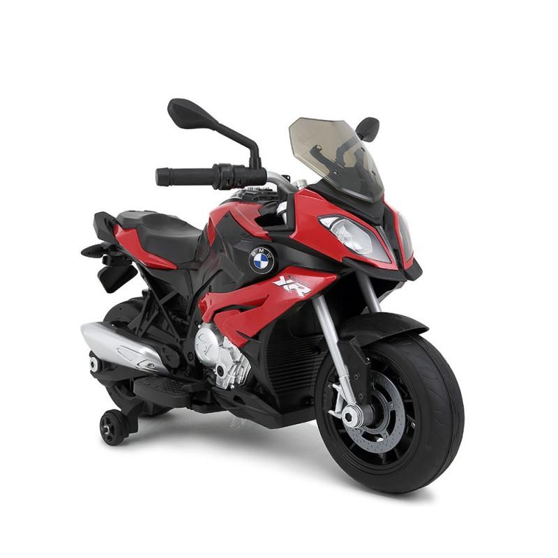Moto Elettrica Per Bambini 12V BMW -Rosso - MazzeoGiocattoli.it