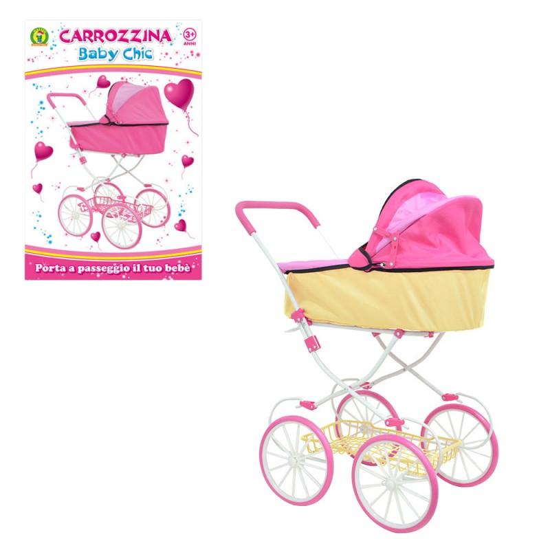 Carrozzina Per Bambole Baby Chic - Mazzeo Giocattoli  - MazzeoGiocattoli.it