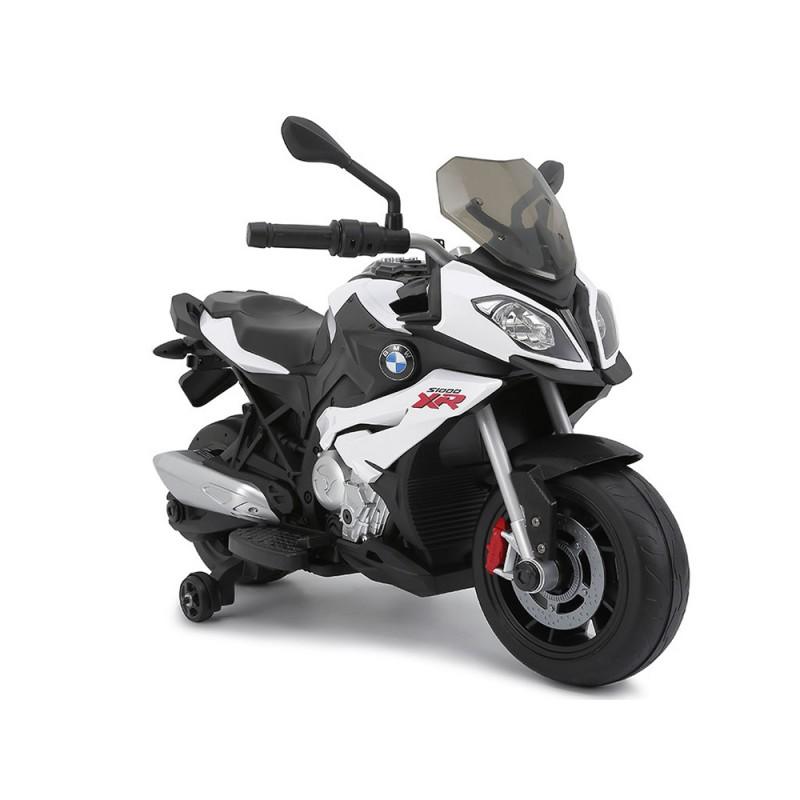 Moto Elettrica Per Bambini 12V BMW -bianca - MazzeoGiocattoli.it