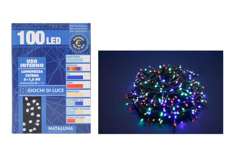 Luci Led Natale Multicolor 100 - MazzeoGiocattoli.it